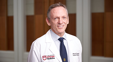 Portrait of Dr. Michael Charlton, a world-renowned liver disease specialist