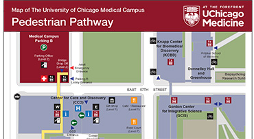map of u of c campus Directions Parking Uchicago Medicine map of u of c campus