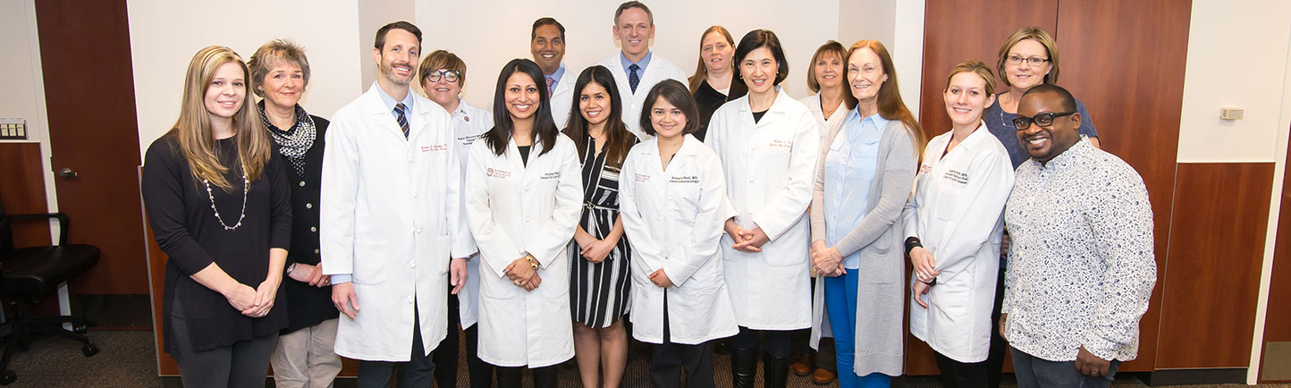 UChicago Medicine Hepatology Team (physicians & nurses) group photo on Friday, March 31, 2017 at the University of Chicago Medicine on the University of Chicago campus.