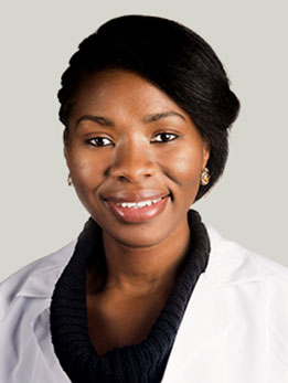 Gynecologic surgeon Sandra Laveaux, MD, MPH