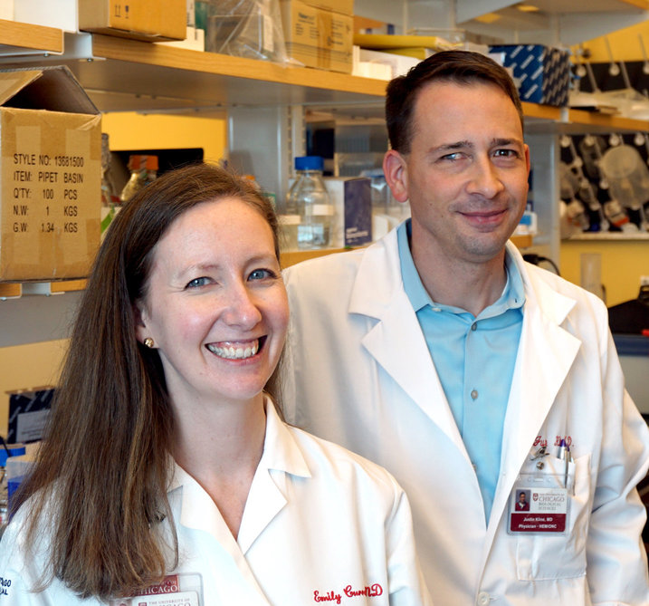 Emily Curran, MD, and Justin Kline, MD